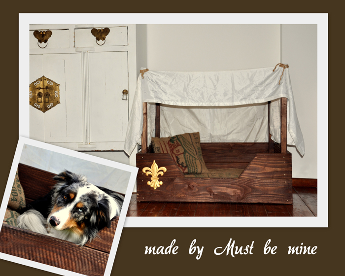 thema november hundebetten selber machen. Black Bedroom Furniture Sets. Home Design Ideas