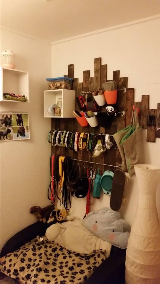 diy ideen f r kreative hundegarderoben von trickgruppefb. Black Bedroom Furniture Sets. Home Design Ideas