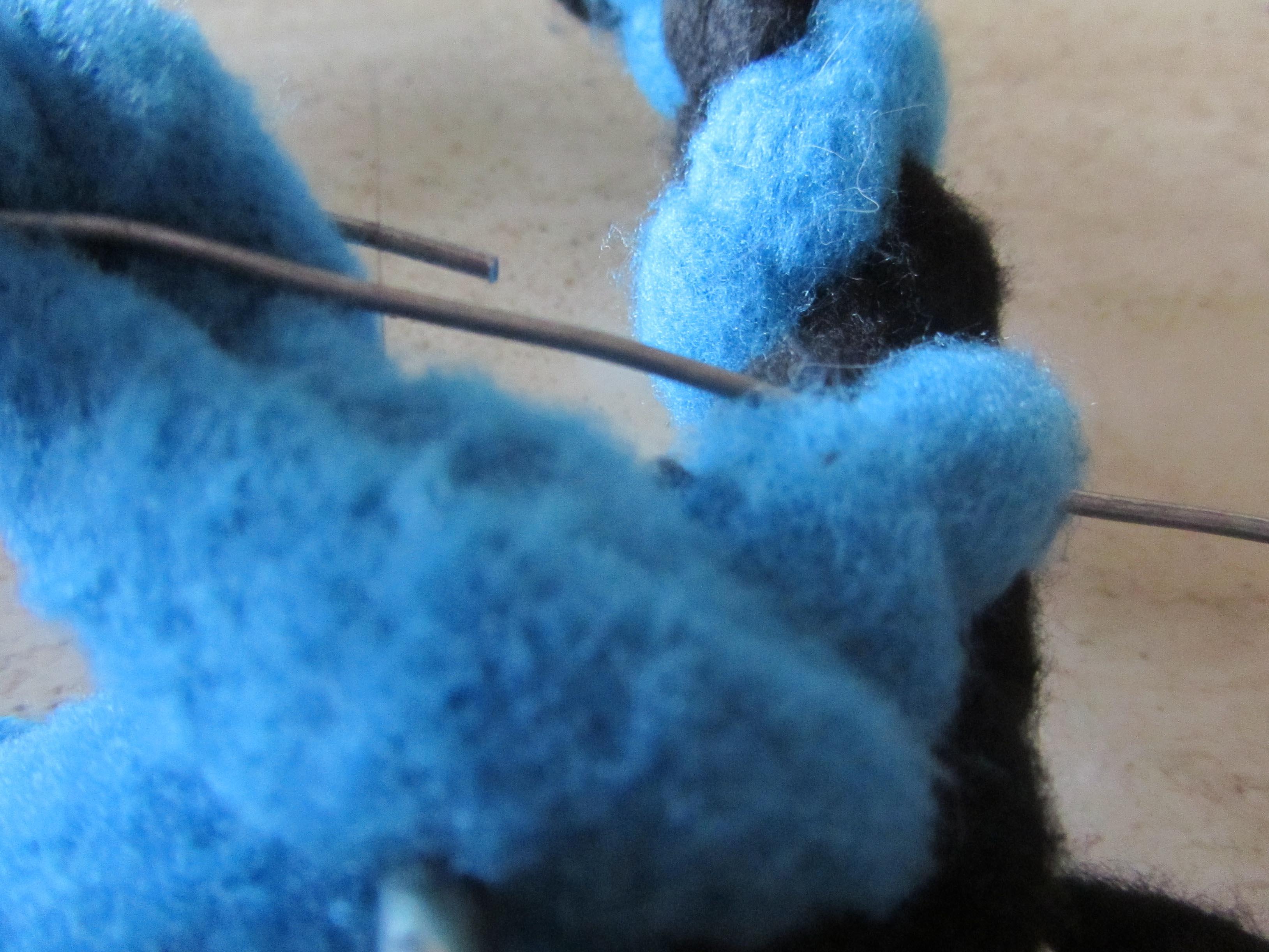 Spiel- Agility-Leine aus Fleece, von ingrid