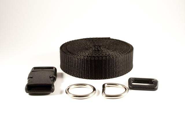 halsband mit kombiniertem klick zug stopp von iceloop design. Black Bedroom Furniture Sets. Home Design Ideas