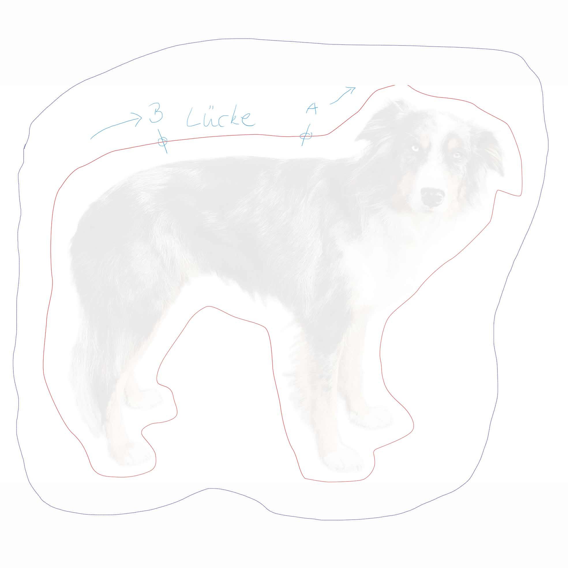 my dog kissen von mustbemine. Black Bedroom Furniture Sets. Home Design Ideas